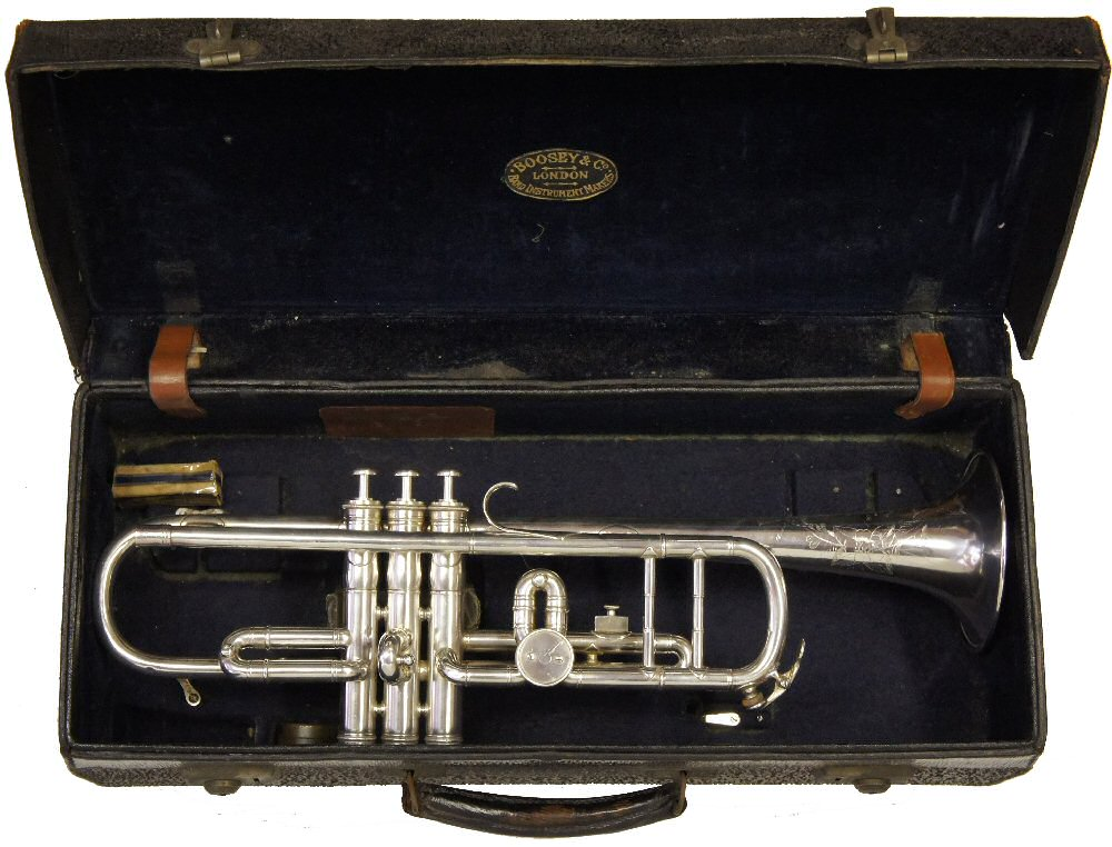 Boosey Bb/A Trumpet C1929