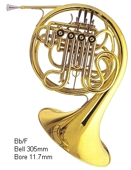 Used Yamaha Double French Horn For Sale