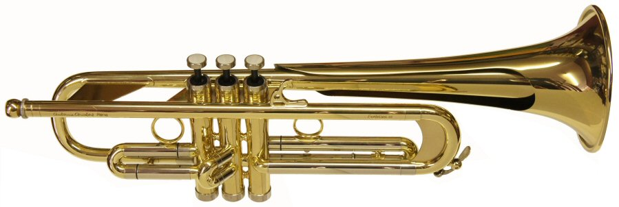 "Courtois Evolution III Trumpet ""Bell over Bell"" system"