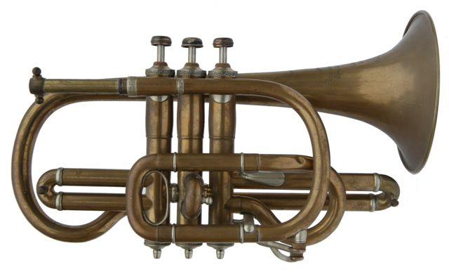 Courtois Konig's Model Cornet in Bb C1873-1881