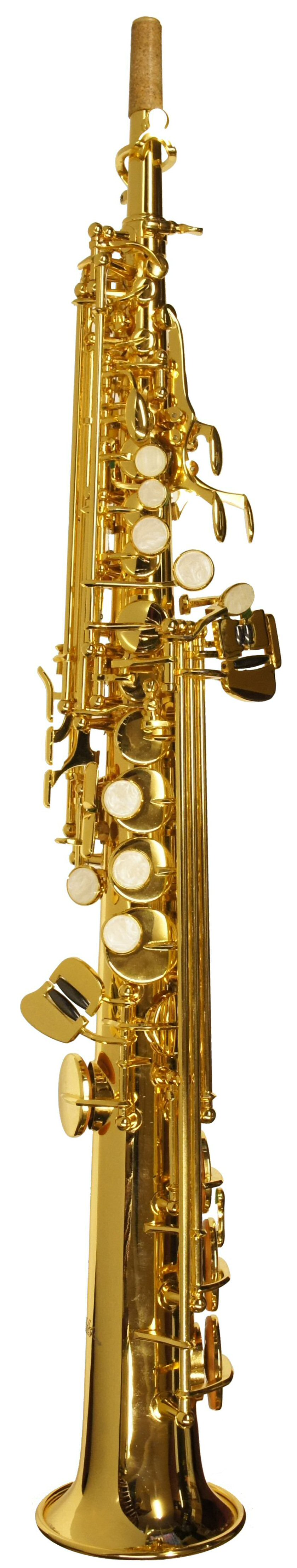 New Old Stock Fighter Gold plated Soprano Sax with high G key