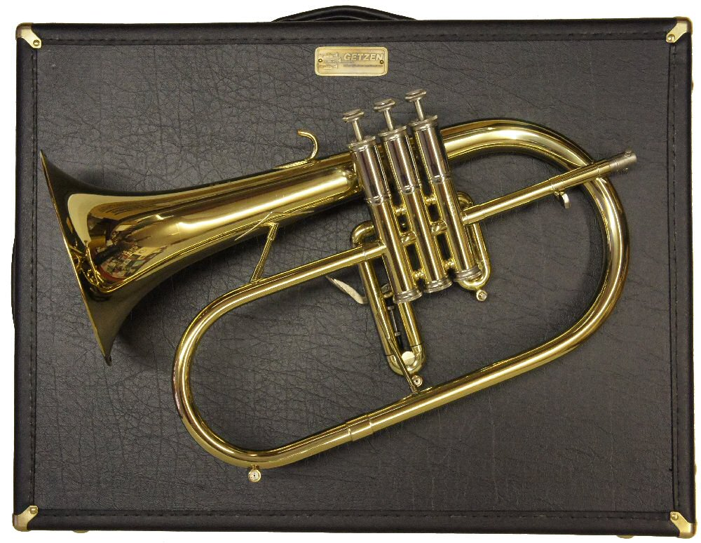 Mint Condition Getzen Custom Flugel Horn