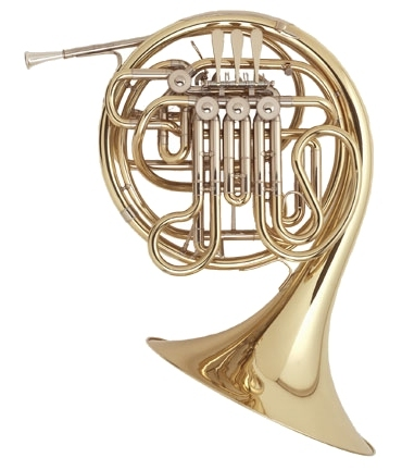 The Holton 378 French Horn has similar playing characteristics to those of the Holton 178 French Horn, with a bright, compact feel and sound. Yellow brass produces a higher tone color with more overtones for clearer projection. Capable of playing piannissimo staccato notes clearly and evenly.