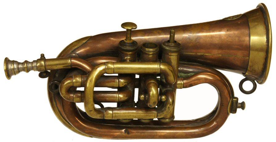 Vintage Higham Bugle with Valves