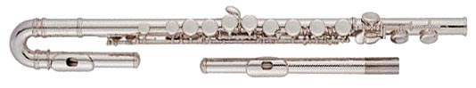 Jupiter Curved Head Flute E MechJFL-515ES C