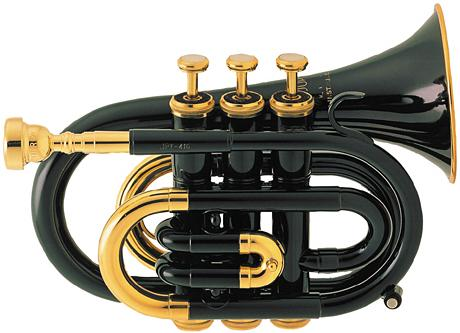 Jupiter Pocket Trumpet Black Finish