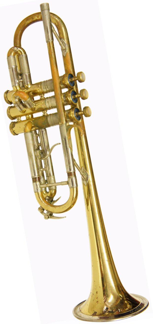 Kurt Scherzer Augsburg Trumpet In C