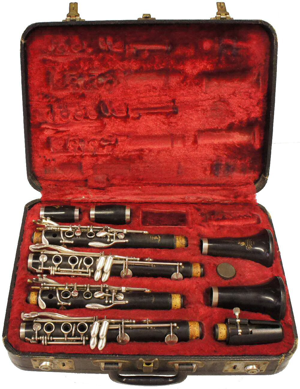 Pair of Boosey & Hawkes 1010 Clarinets