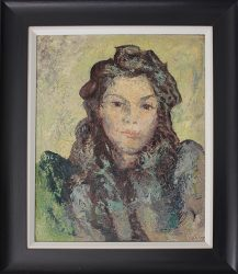 Ronald Ossory Dunlop Portrait of a Girl