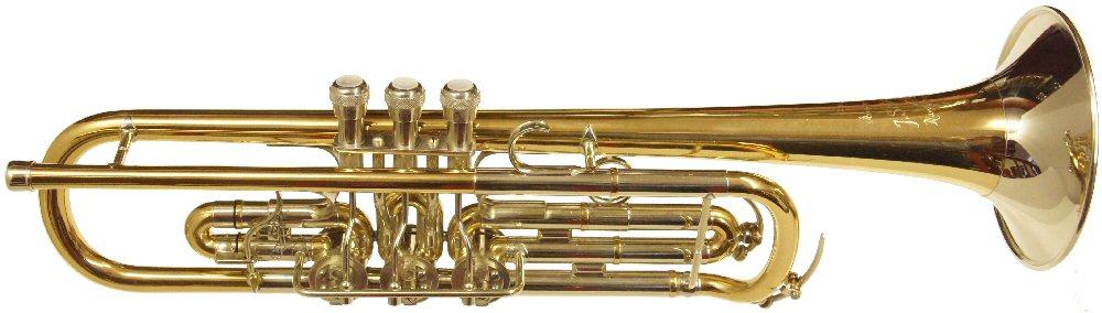 Scherzer Top Action Rotary Valve Trumpet