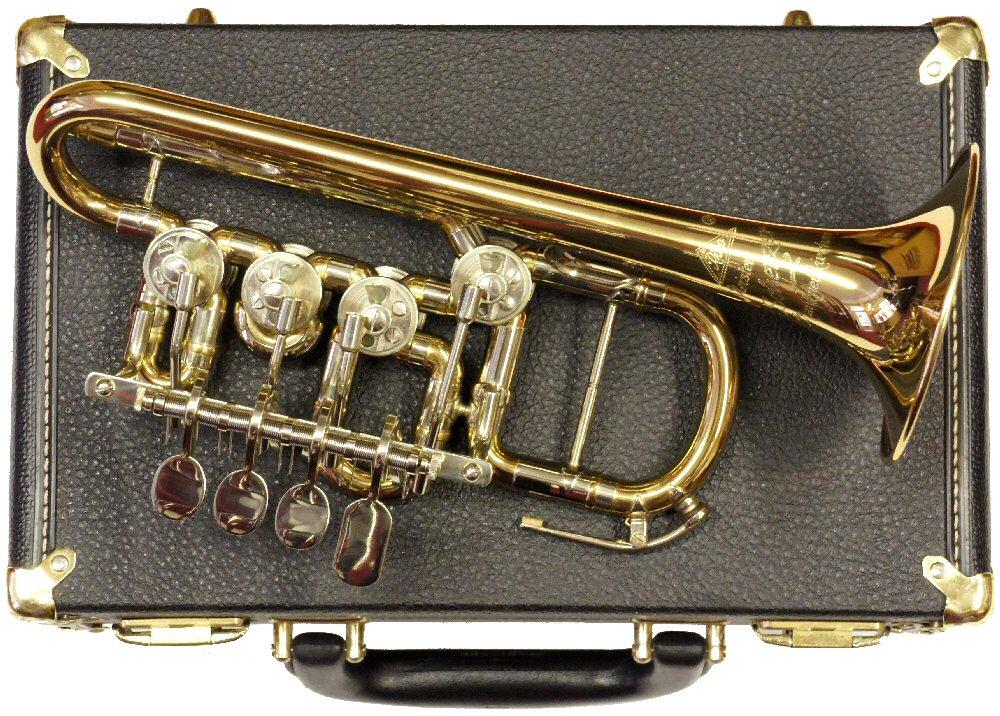 Second Hand Scherzer Piccolo Bb/A Trumpet