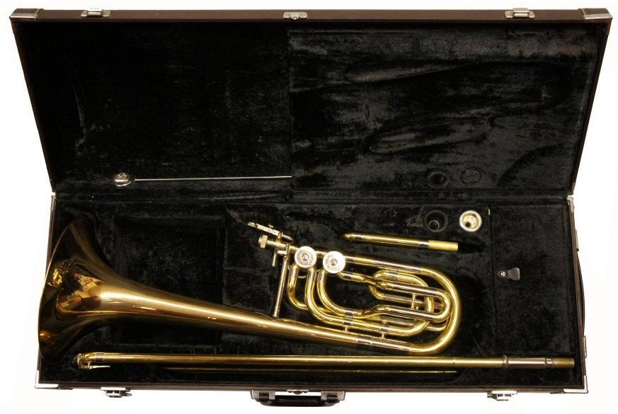 Second hand yamaha 613g bass trombone for Yamaha trombones for sale