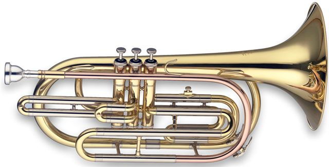 Levante LV-MB5305 Marching Trombone