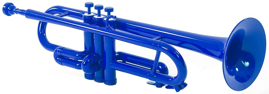Tromba Plastic Trumpet Blue