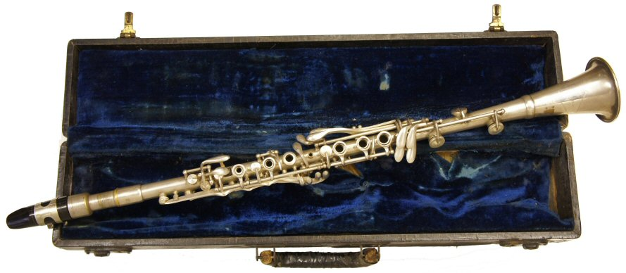 Vintage Dumont Metal Clarinet