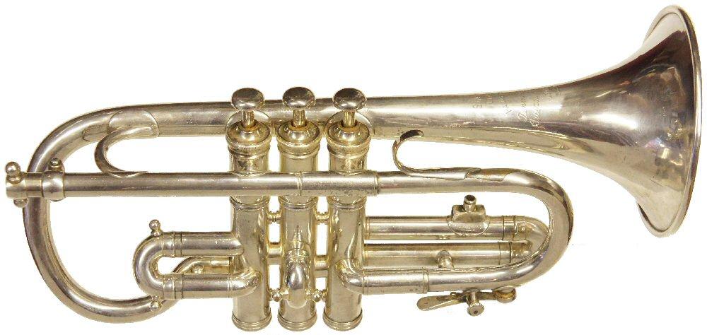 Vintage Hawkes Soprano Cornet C1921