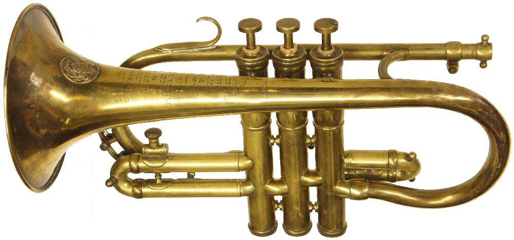 Vintage Higham-Soprano Cornet C1925