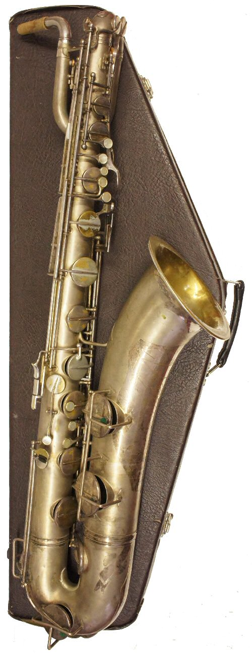 Vintage Pennsylvania Baritone Saxophone