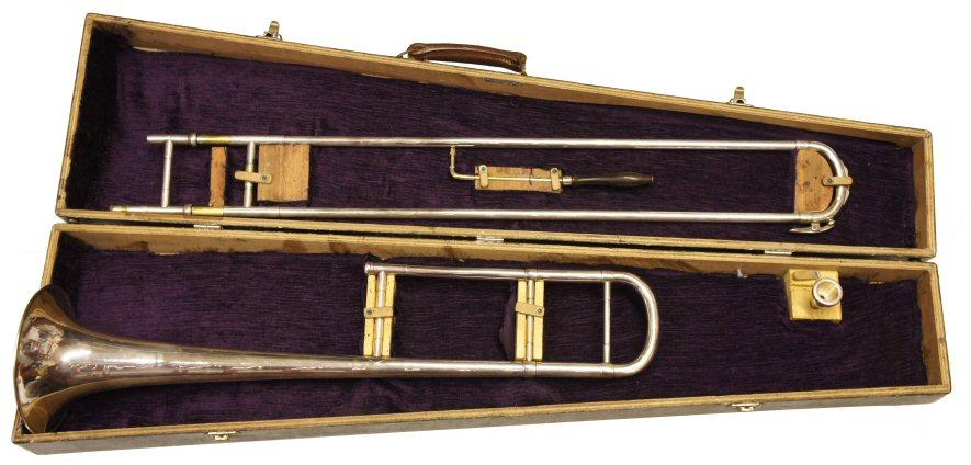 Vintage William Brown Bass Trombone In G