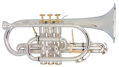 The York Eminence cornet YO-CO4028 is a free blowing instrument with a full range of dynamics and even response through all registers. It is the instrument of choice for players seeking the traditional British large bore sound. A must have for professional cornet players""